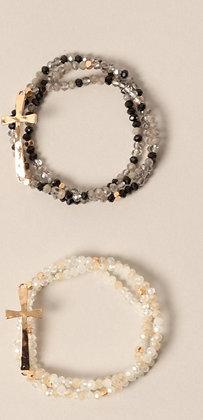 Cross Stack Bracelets