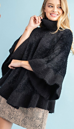 Dolman Sweater Poncho