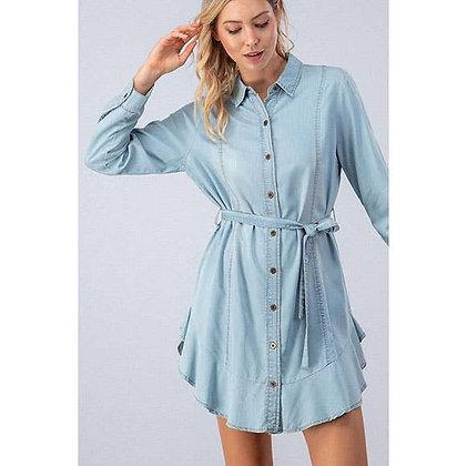 (S)Chambray Denim Dress
