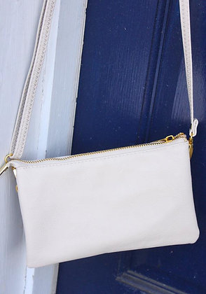 Cream Crossbody Bag