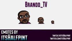 Brandd_TV  | Twitch Emotes | Cute Emotes | Custom Twitch Emotes | Emote Commissions | itsHalfpint |