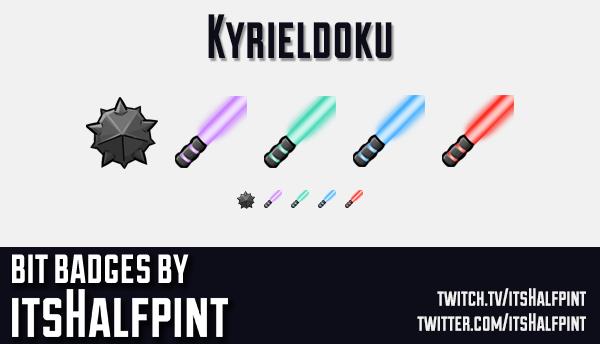 Kyrieldoku  | Twitch Sub Badges | Beat Saber