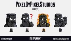 PixelByPixel - twitch emotes funny rage confused