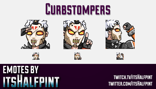 Curbstompers | Overwatch emotes |  | Twitch Emotes | Cute Emotes | Custom Twitch Emotes | Emote Comm