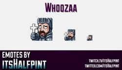 Whoozaa | Twitch Emotes | Cute Emotes | Custom Twitch Emotes | Emote Commissions | itsHalfpint | Mix