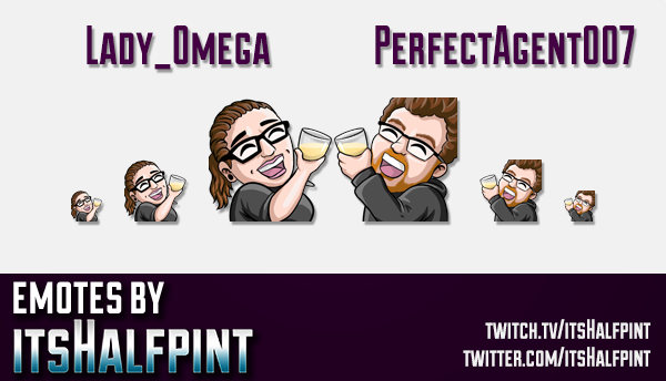 | Twitch Emotes | Cute Emotes | Custom Twitch Emotes | Emote Commissions | itsHalfpint | Mixer Emote