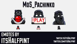 MoS_Pachinko - PixelByPixel | Twitch Emotes | Cute Emotes | Emote Artist | itsHalfpint