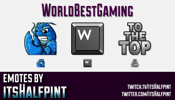 WBG | Twitch Emotes | Cute Emotes | Custom Twitch Emotes | Emote Commissions | itsHalfpint | Mixer E