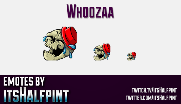 Whoozaa | Twitch Emotes | Cute Emotes | Custom Twitch Emotes | Emote Commissions | itsHalfpint | Mix