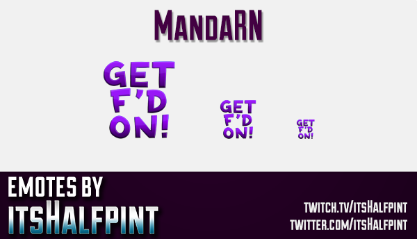 MandaRN | Twitch Emotes | Cute Emotes | Custom Twitch Emotes | Emote Commissions | itsHalfpint | Mix