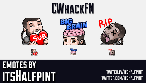 CwhackFN | Twitch Emotes | Cute | Custom | Commissions | itsHalfpint