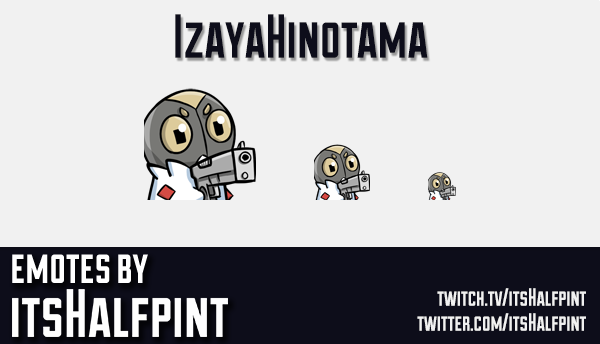 IzayaHinotama | pokemon emotes  | Twitch Emotes | Cute Emotes | Custom Twitch Emotes | Emote Commiss