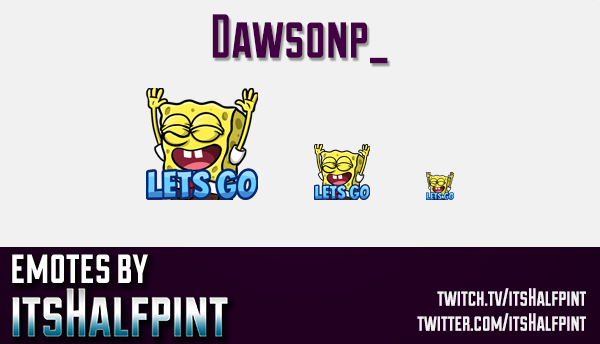 Dawsonp_  | Twitch Emotes | Cute Emotes | Custom Twitch Emotes | Emote Commissions | itsHalfpint | M