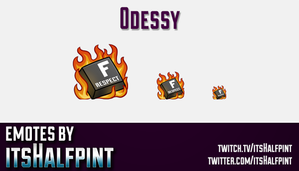 0dessy  | Twitch Emotes | Cute Emotes | Custom Twitch Emotes | Emote Commissions | itsHalfpint | Mix