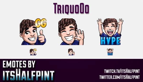 Triquo0o  | Twitch Emotes | Cute Emotes | Custom Twitch Emotes | Emote Commissions | itsHalfpint | M