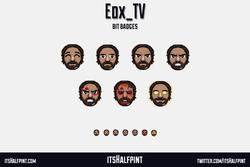 EDX_TV   Twitch Sub Badges   Doom