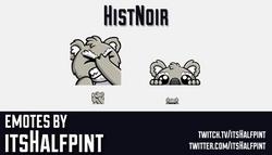 HistNoir | koala Emotes  | Twitch Emotes | Cute Emotes | Custom Twitch Emotes | Emote Commissions |