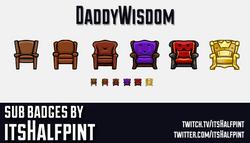 DaddyWisdom-SubBadgeCard