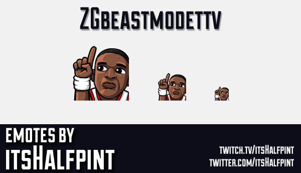 ZGbeastmodettv  | Twitch Emotes | Cute Emotes | Custom Twitch Emotes | Emote Commissions | itsHalfpi