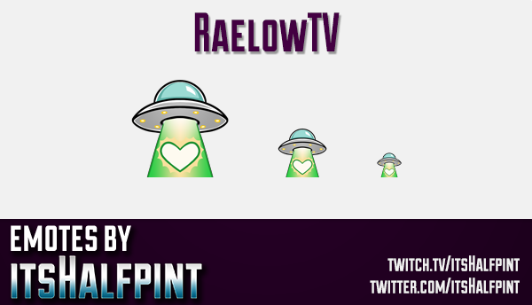 RaelowTV  | Twitch Emotes | Cute Emotes | Custom Twitch Emotes | Emote Commissions | itsHalfpint | M
