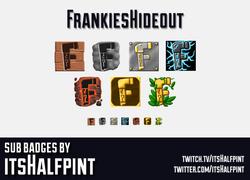 FrankiesHideout   Twitch Sub Badges   Bi