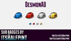 DesmonAU-SubBadge