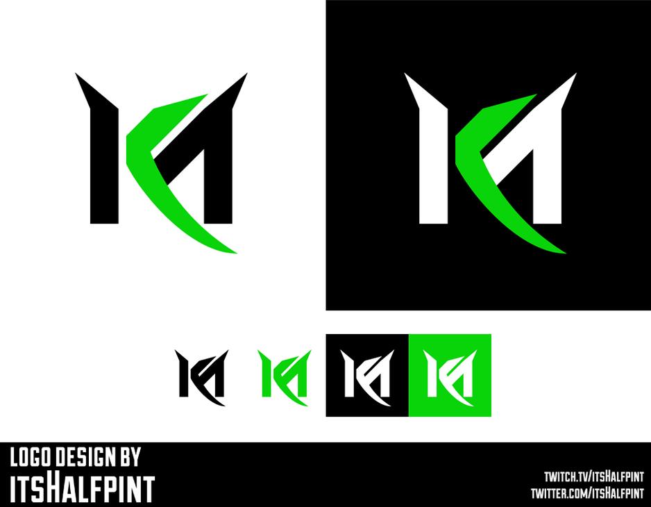 K_Mack- Monogram logomark Logo Design K M symbol