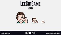 LeeGotGame - twitch emotes cute funny wave hi