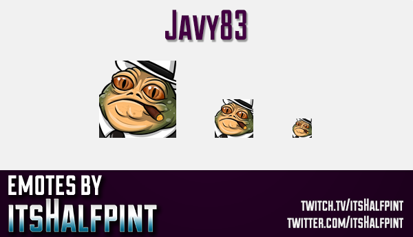 Javy83 | Star Wars Emotes  | Twitch Emotes | Cute Emotes | Custom Twitch Emotes | Emote Commissions