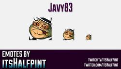 Javy83 | Star Wars Emotes  | Twitch Emotes | Cute Emotes | Custom Twitch Emotes | Emote Commissions