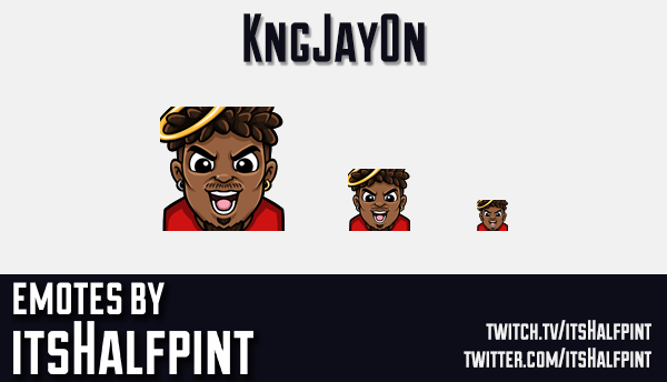 kngjay0n | Twitch Emotes | Cute | Custom | Commissions | itsHalfpint