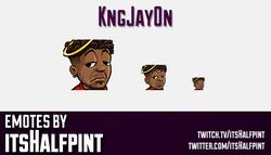 kngjay0n  | Twitch Emotes | Cute Emotes | Custom Twitch Emotes | Emote Commissions | itsHalfpint | M