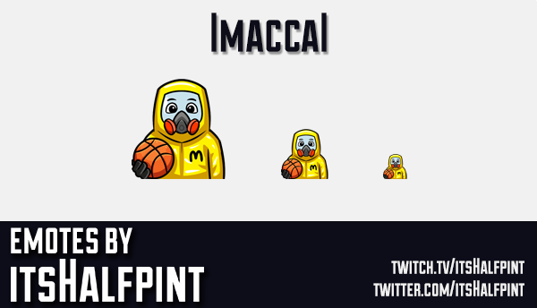 Imaccal  | Twitch Emotes | Cute Emotes | Custom Twitch Emotes | Emote Commissions | itsHalfpint | Mi
