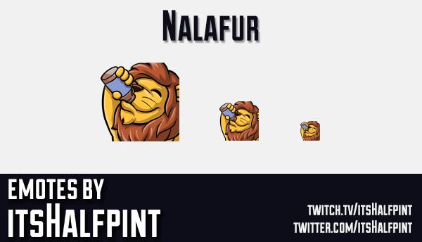 Nalafur | Twitch Emotes | Cute Emotes | Emote Artist | itsHalfpint