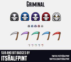 Griminal-SubBadgesCard