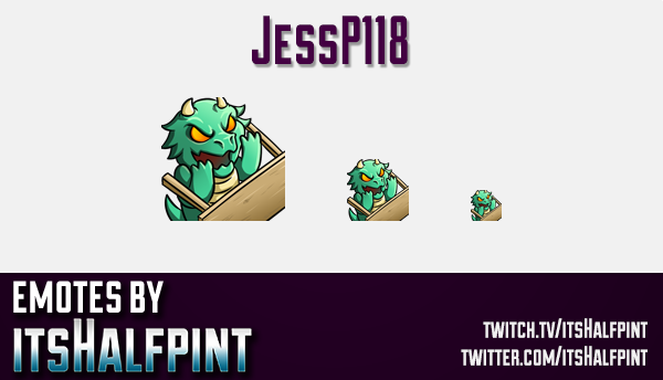 jessp118 | Twitch Emotes | Cute Emotes | Custom Twitch Emotes | Emote Commissions | itsHalfpint | Mi