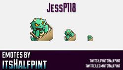 jessp118 | Twitch Emotes | Cute Emotes | Custom Twitch Emotes | Emote Commissions | itsHalfpint | Mi