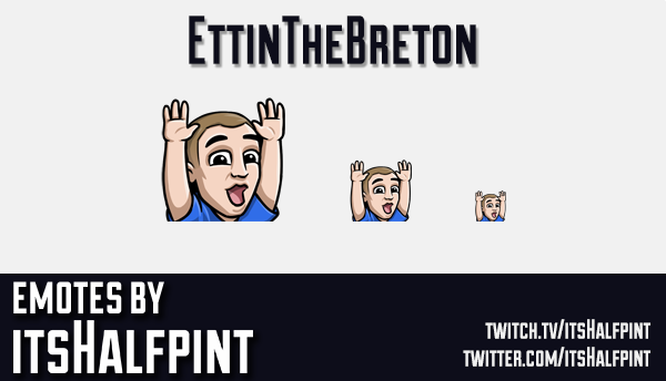 EttinTheBreton | Twitch Emotes | Cute Emotes | Custom Twitch Emotes | Emote Commissions | itsHalfpin