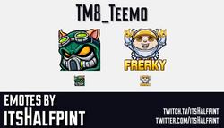 TM8_Teemo | Twitch Emotes | Cute Emotes | Emote Artist | itsHalfpint