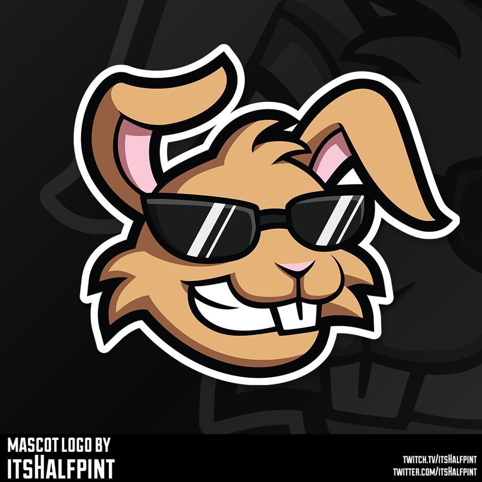 DahBunneh07 Mascot Logo Illustration | Avatar | Logo | Merch Design | Emotes | itsHalfpint
