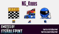 NG_Kibbs | Twitch Emotes | Cute Emotes | Custom Twitch Emotes | Emote Commissions | itsHalfpint | Mi