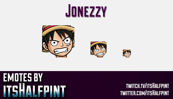 Jonezzy | Twitch Emotes | Cute Emotes | Custom Twitch Emotes | Emote Commissions | itsHalfpint | Mix