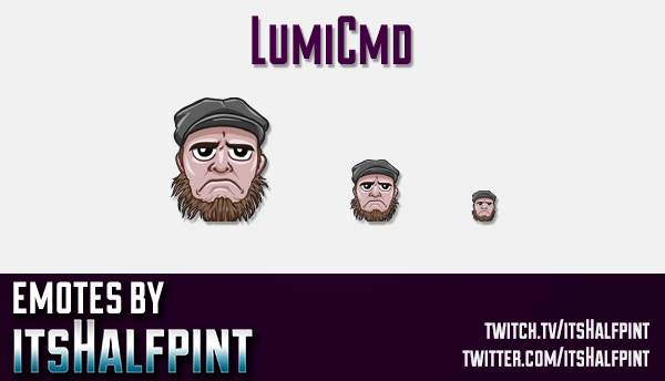 LumiCmd  | Twitch Emotes | Cute Emotes | Custom Twitch Emotes | Emote Commissions | itsHalfpint | Mi