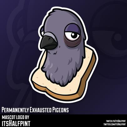 PEP Mascot Logo Illustration | Avatar | Logo | Merch Design | Emotes | itsHalfpint