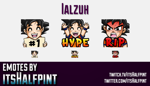 Ialzuh | Twitch Emotes | Cute Emotes | Custom Twitch Emotes | Emote Commissions | itsHalfpint | Mixe