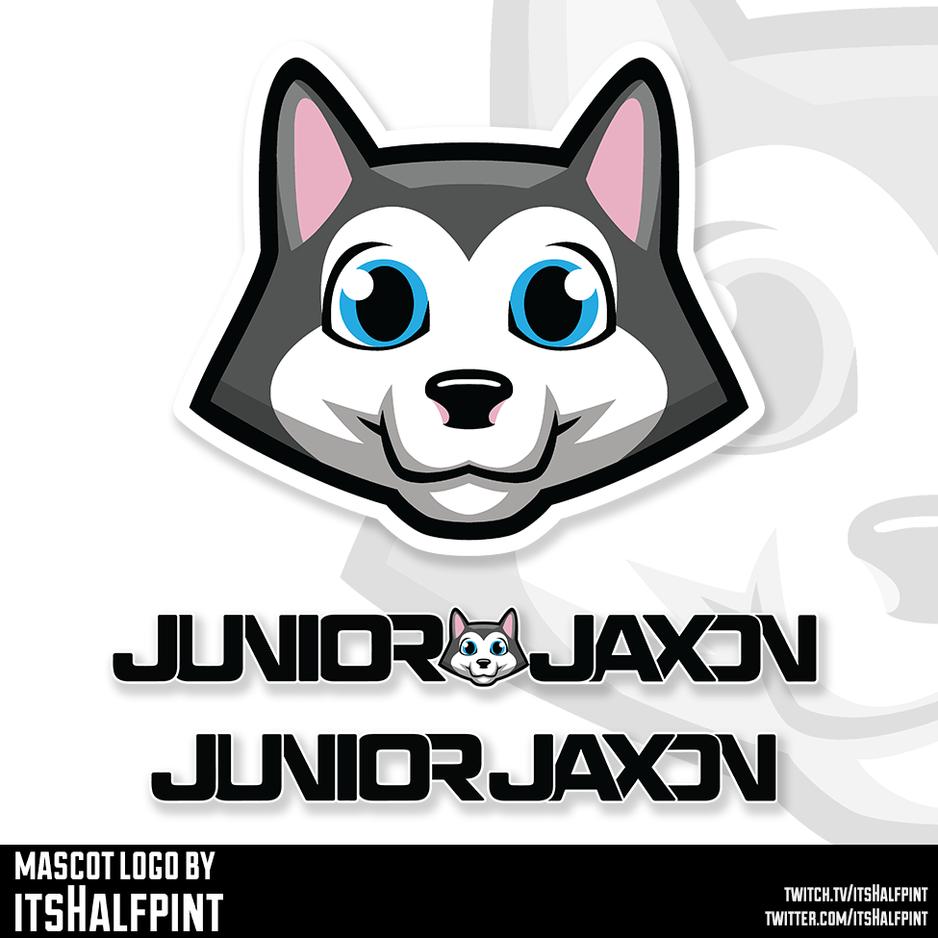 JuniorJaxon Mascot Logo Illustration | Avatar | Logo | Merch Design | Emotes | itsHalfpint
