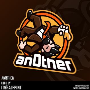 an0ther esports mascot logo Illustration   Avatar   Logo Design   Emotes   itsHalfpint