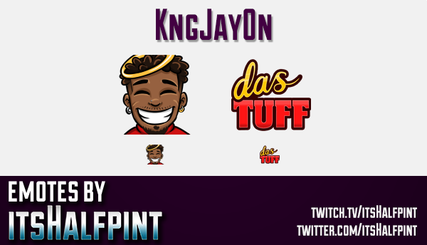 kngjay0n  | Twitch Emotes | Cute Emotes | Custom Twitch Emotes | Emote Commissions | itsHalfpint | M