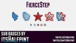FierceStep-SubBadgesCard