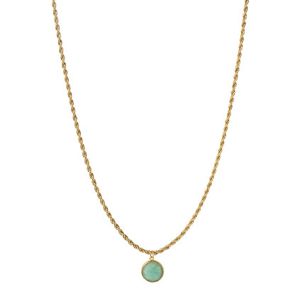 TERRA GOLD AMAZONITE CHOKER